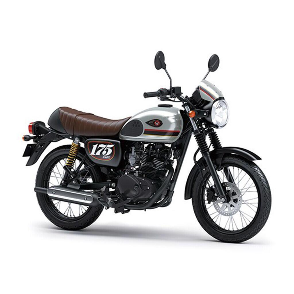 Warna Baru Kawasaki W175, Si Classic Lebih Gereget....