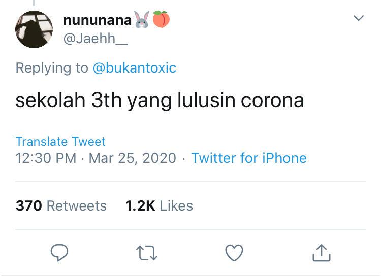 Lulus Jalur Corona, 20 Komentar Kocak Netizen Menanggapi UN Ditiadakan Tahun Ini