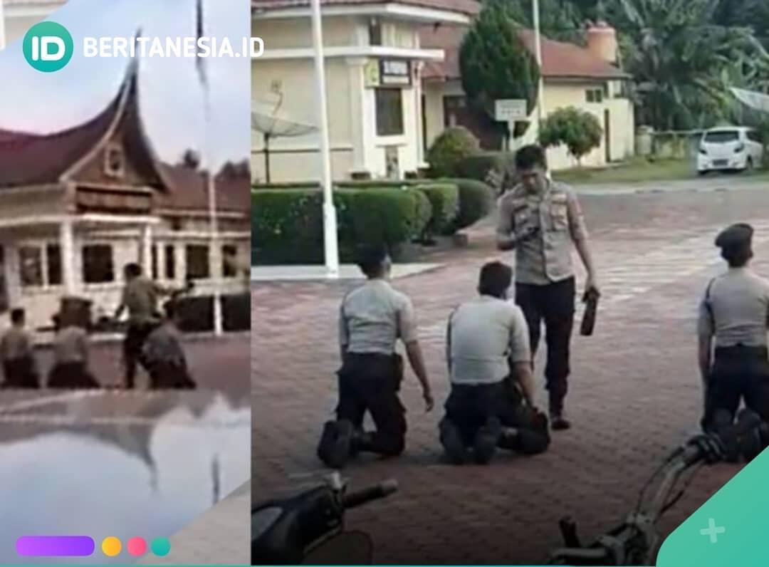 Sadis! Gara-gara Terlambat Apel! Polisi Aniaya Junior Hingga Masuk Rumah Sakit!