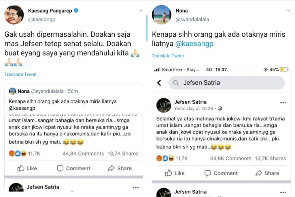 Doa Kaesang Untuk Pelaku Ujaran Kebencian Eyangnya yang Meninggal Dipuji Netizen