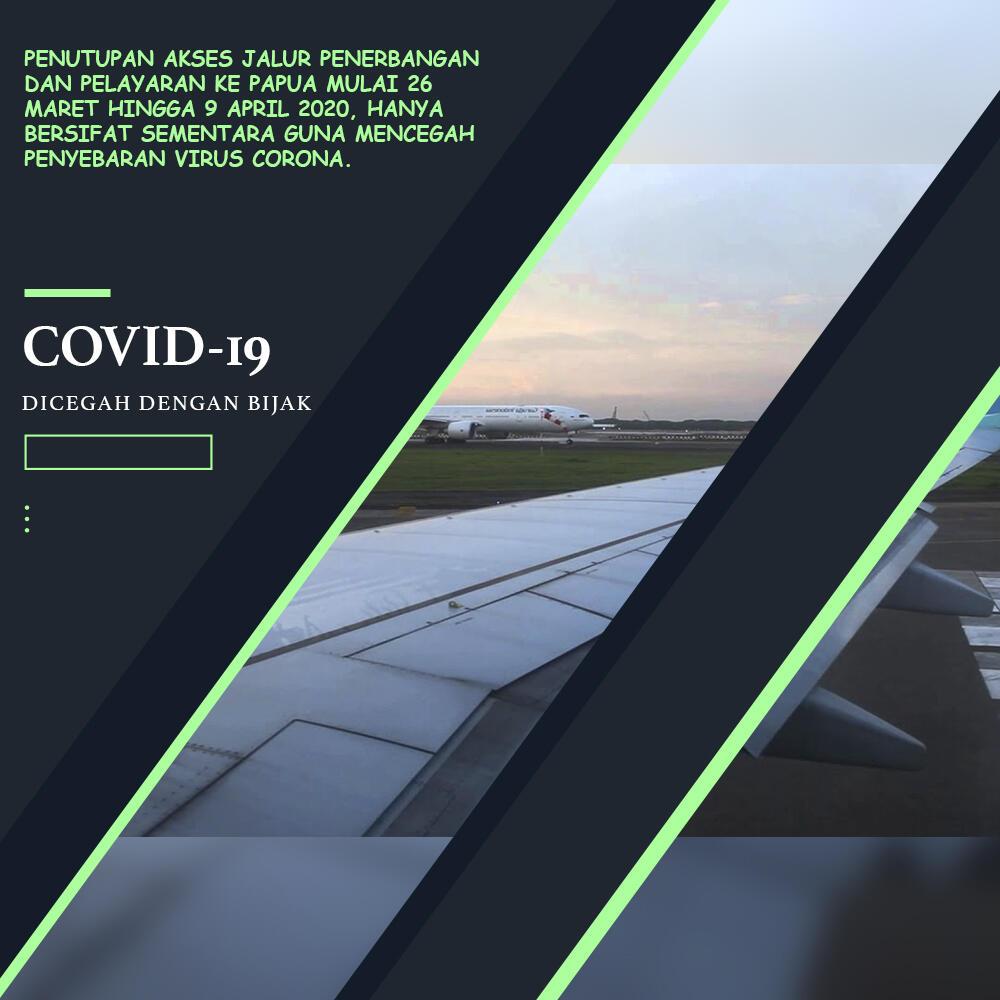 Penutupan Akses Penerbangan ke Papua Hanya Sementara