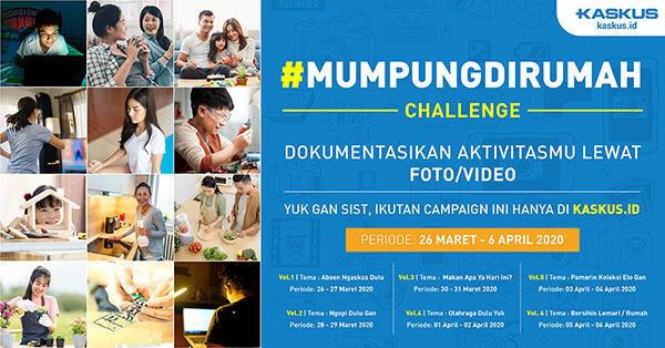 [UPDATE PEMENANG] #MumpungdiRumah Challenge Vol. 5