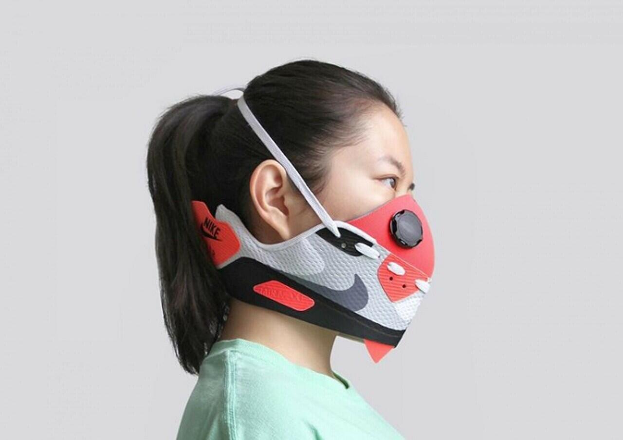 Lagi Cari Masker? Zhijun Wang Ciptakan Masker Sneakers Seharga Rp83 Juta Loh! Minat?