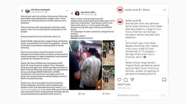 Jenazah Perawat Positif Corona Ditolak, Publik Murka: Tangkap Provokatornya
