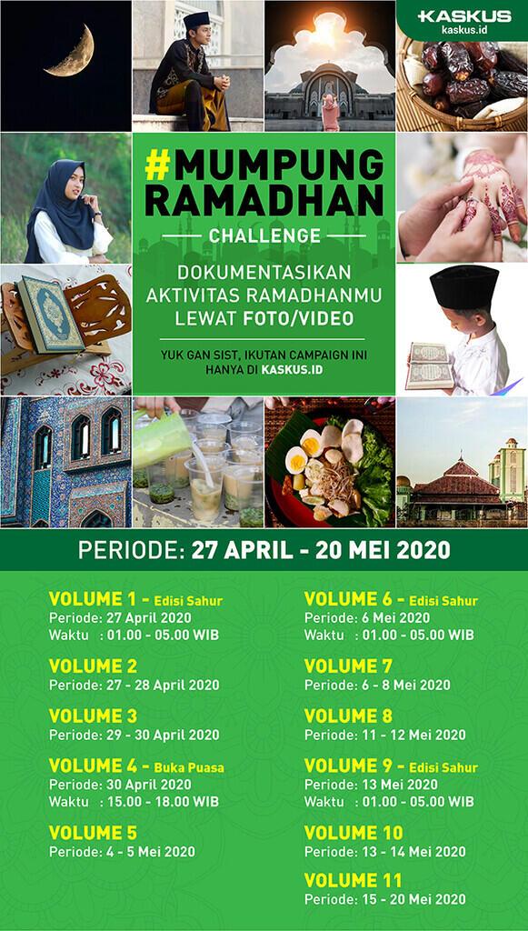 Abis Edisi Sahur!!Lanjut #MumpungRamadhan Challenge Vol. 2. Gasss