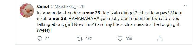 WOW Umur 23 Jadi Trending, Ada Apa ?