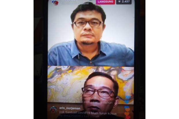 Ridwan Kamil Sebut Modal Sosial Kunci Menangi Perang Lawan Corona