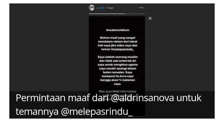 Videonya Viral Diduga Lecehkan Agama, Mahasiswa Universitas Pertamina, Cuma Bercanda