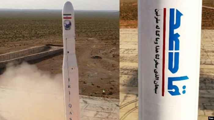 Iran Sukses Orbitkan Satelit Militer Pertama