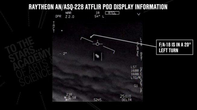 AS Rilis Video UFO, Pemerintah Jepang Diminta Jangan Pura-pura Kaget