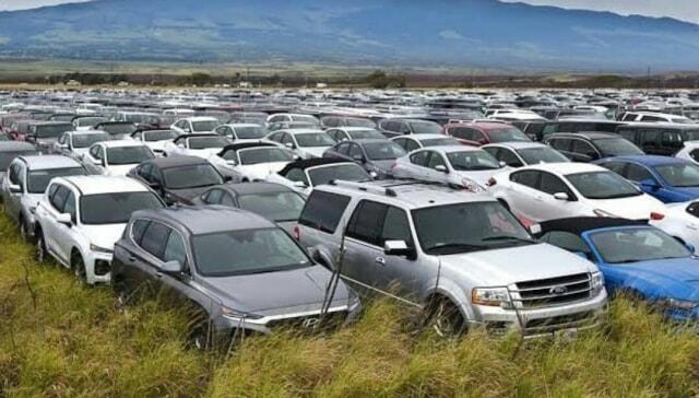 Dampak Corona, Ribuan Mobil Rental ini Hanya Terparkir