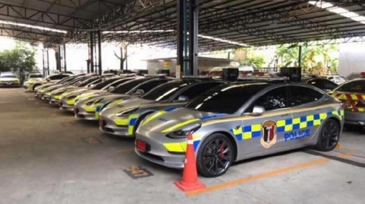 Tesla Model 3 di Sewa Thailand Untuk Kendaraan Kepolisian, Indonesia Apa Kabar?
