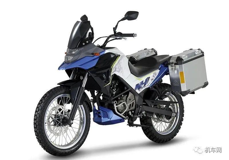 Bisa Dibilang Motor Ini Adalah Honda Grom Versi Adventure, Tapi Buatan China