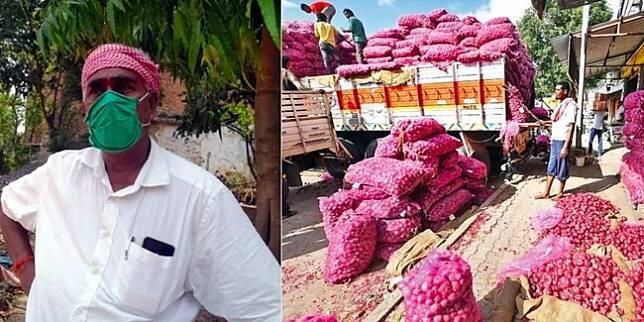 Nyamar Jadi Pedagang, Pria Ini Borong 25 Ton Bawang Supaya Bisa Mudik