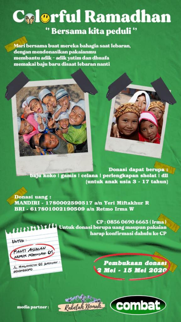 Bersama Kita Peduli Anak Yatim dan Dhuafa