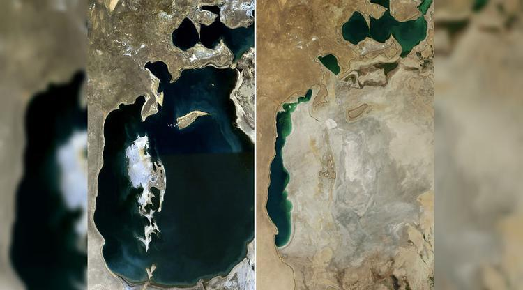 Awal kekeringan di laut aral, bencana ekologis terparah dalam sejarah