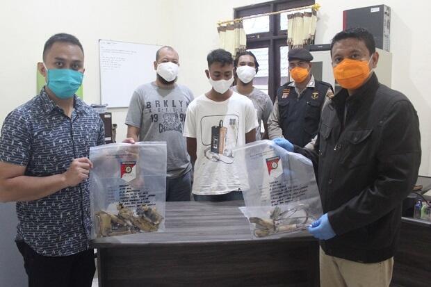 Polisi Tangkap Pembawa Barang Mirip Bom yang Bikin Geger Warga Seruyan