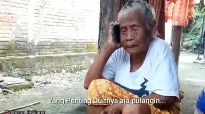 Mbah Minto, Nenek Gaul yang Sedang Viral di Jagat Maya