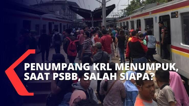 RK Ungkap 3 Penumpang KRL Bogor-Jakarta Positif Corona: PSBB Bisa Gagal