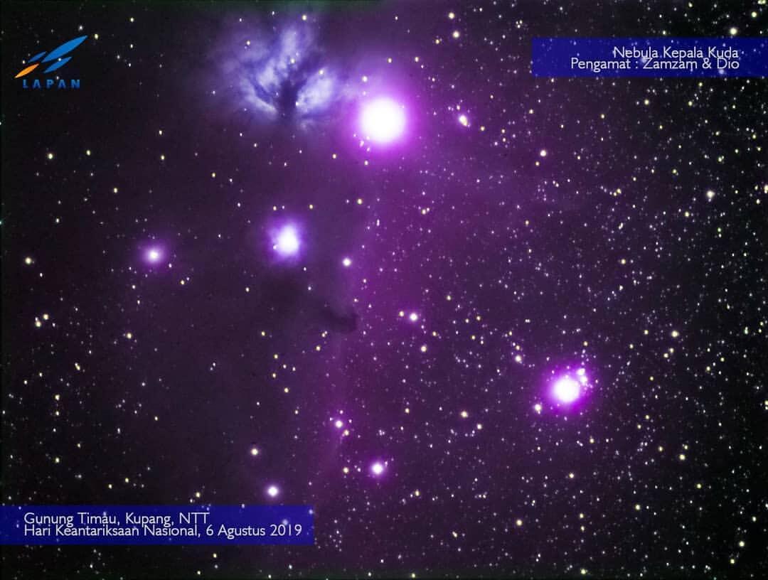 Video Viral Bintang Tsurayya, Ini Penjelasan LAPAN
