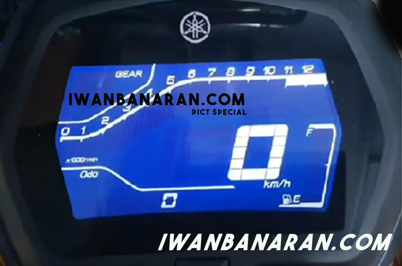 Bocoran Speedometer Misterius, Diduga Milik Motor Baru Yamaha