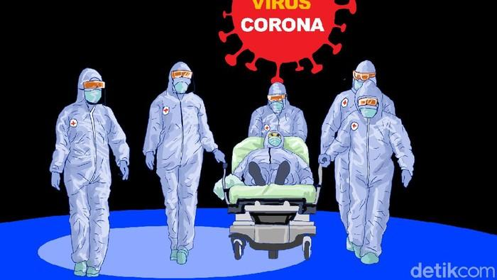 Kasus Pertama di RI: Sembuh dari Corona Lalu Positif Lagi?