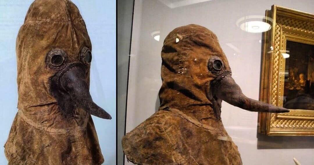 Inilah Foto 'PENAMPAKAN' Topeng Plague Doctor Dan Kisah Serta Fakta Dibaliknya