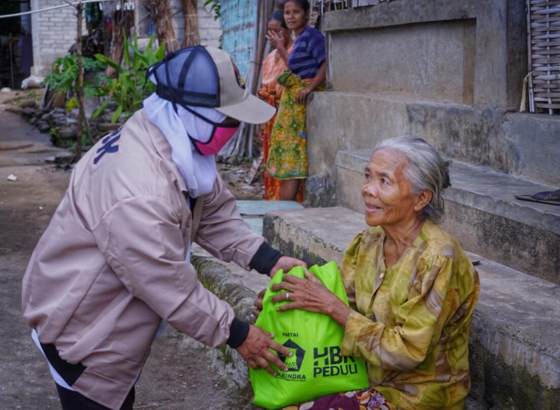Pandemi Menggila, HBK Turunkan Bantuan Untuk Warga Lombok