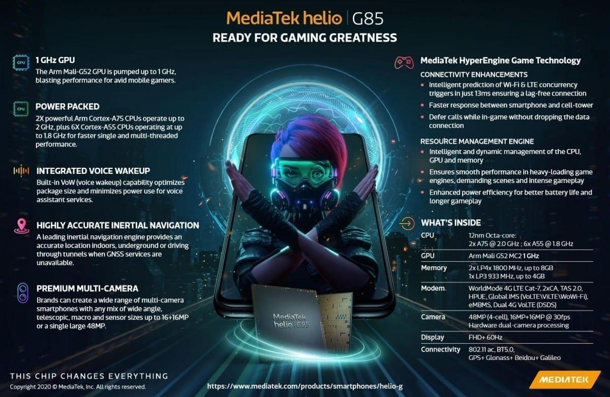 MediaTek Helio G85: Chipset Gaming Kelas Menengah