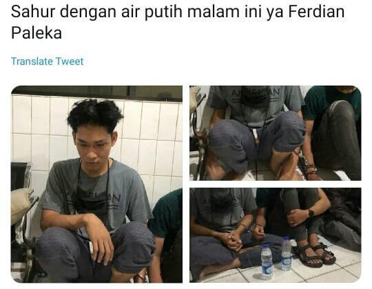 Youtuber Sembako Sampah Ferdian Paleka Ditangkap dan Sebentar Lagi Bebas! Tapi?