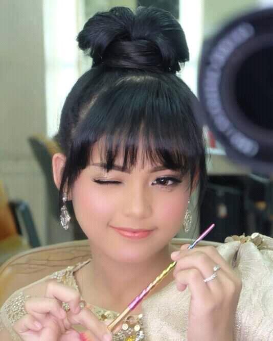 6 Potret Putri Isnari Ketika Kembali Bertanding Di Panggung Indosiar