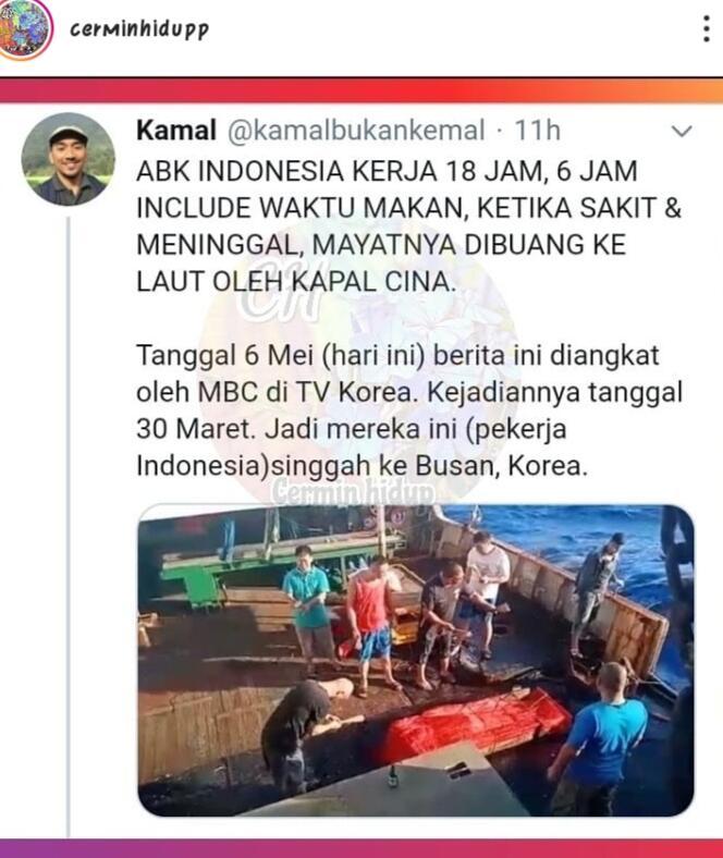 Viral! Eksploitasi ABK Indonesia di Kapal Cina