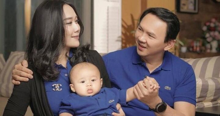 6 Potret Harmonis Keluarga Kecil Ahok yang Jarang Tersorot