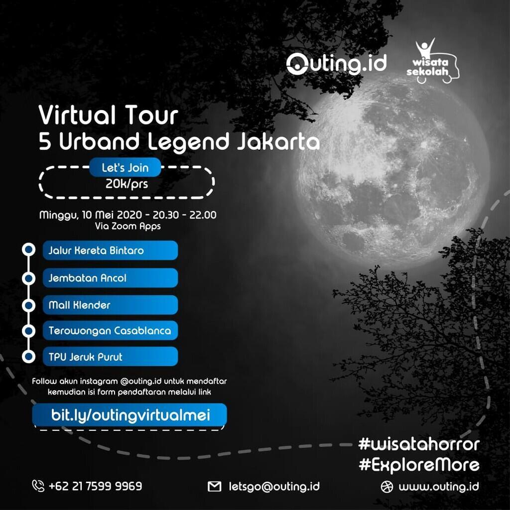 Wisata Horor Jakarta pas PSBB