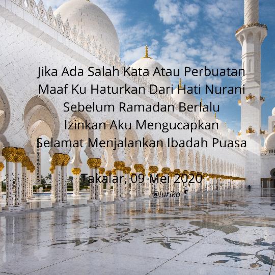 (CoC Ramadhan) Kegabutan Hakiki, Tercipta Quote Bertema Ramadan By Lurika