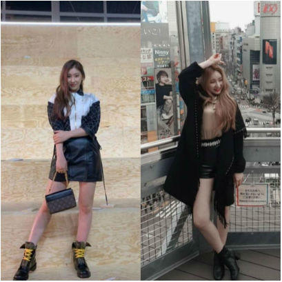 9 Adu Gaya Kakak Beradik Chaeyeon IZONE Dan Chaeryeong ITZY, Kece Abis