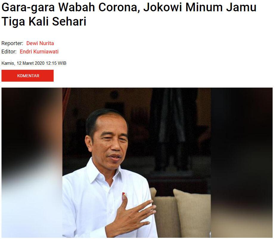 Pengamat: Jokowi Seperti Hendak Cuci Tangan Dari Pandemik Covid-19