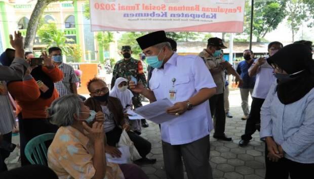 Pantau Penyaluran BST, Bupati Ingin Pastikan Penerima Bantuan Tepat Sasaran