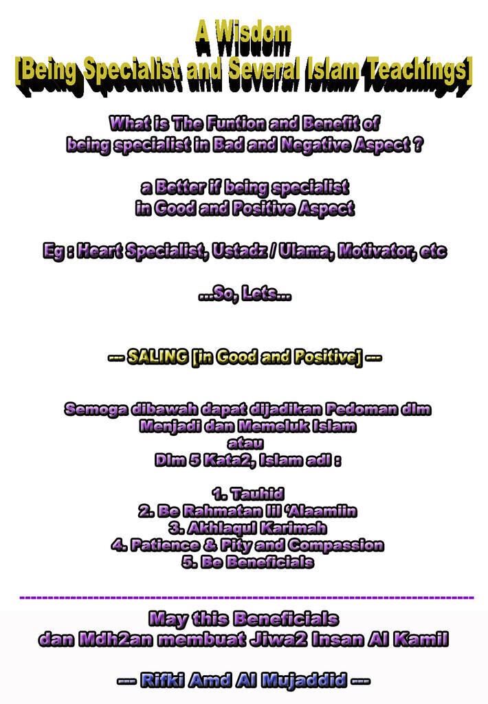 [Muhasabah & Nasionalisme]Islam-Agama yg Bagus sejalan dgn Pancasila bahkan Sains