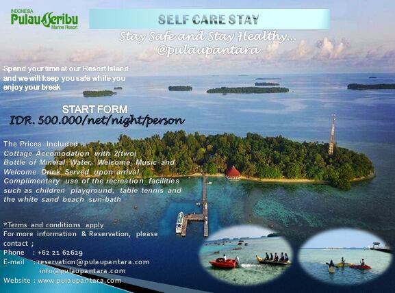 PROMO ISOLATION PACKAGE (Pulau Seribu-Pulau Pantara) Valid Until end Of JUNE 2020