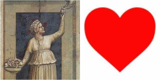 Perjalanan Panjang Ideograf Hati Hingga Menjadi Simbol Cinta
