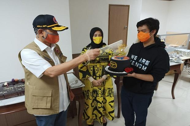 Kue Tart di Medan Tempur Doni Monardo