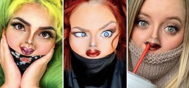 Bosan Di Rumah Membuat Para Beauty Enthusiast Lakukan Tiny Face Challenge!