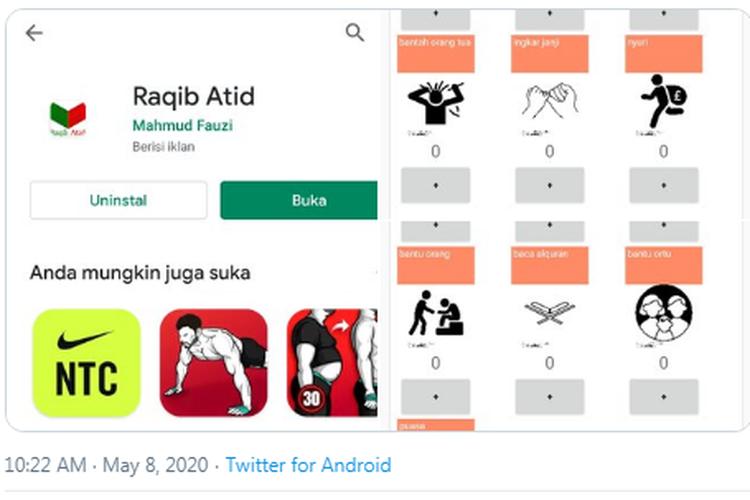 Kontroversial Aplikasi Raqib Atid, Manusia Bisa Mencatat Amal Baik dan Buruk Sendiri!