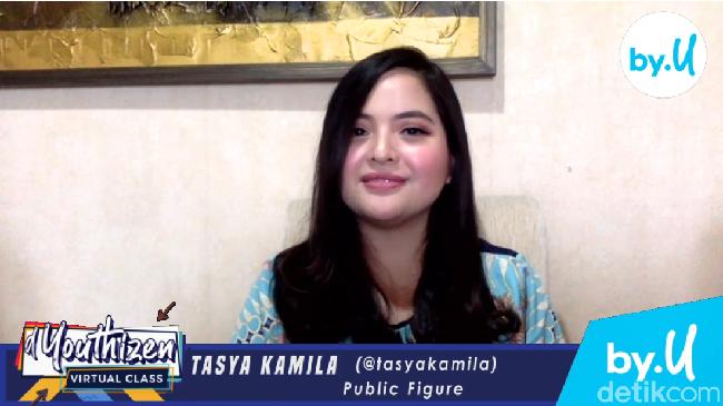 Tips Kuliah Online Saat Pandemi Corona Ala Tasya Kamila