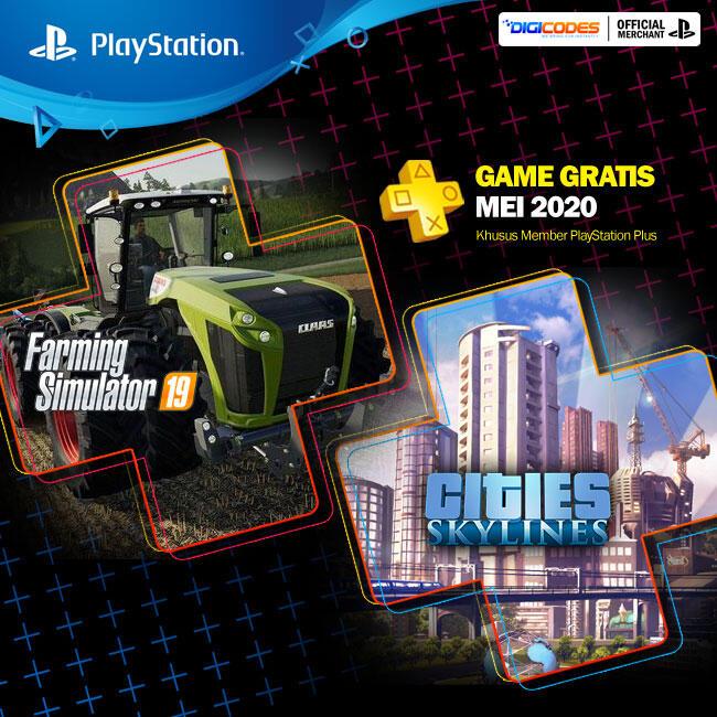 GAME GRATIS PLAYSTATION PLUS MEI 2020