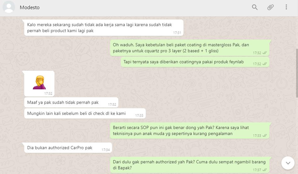 SURAT PEMBACA Untuk MASTERGLOSS INDONESIA