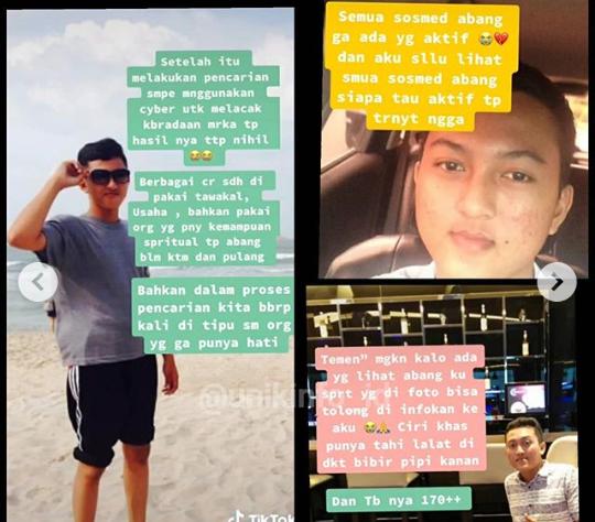Viral, Kisah Gadis Kehilangan Abang dan 5 Sahabatnya Selama 3 Tahun! Ada yang Tahu?