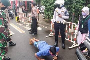 Besok, Sanksi Tegas Pelanggar PSBB di Jakarta Pusat