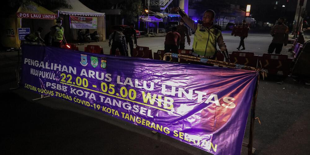 Ini 5 Titik Pengalihan Arus Lalu Lintas di Tangerang Selatan Selama PSBB